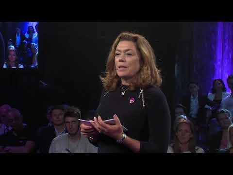 Kristin Skogen Lund på oppstartskonferansen for #inkluderingsdugnaden