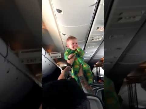Kathy Lee - Baby In Flight Entertainment