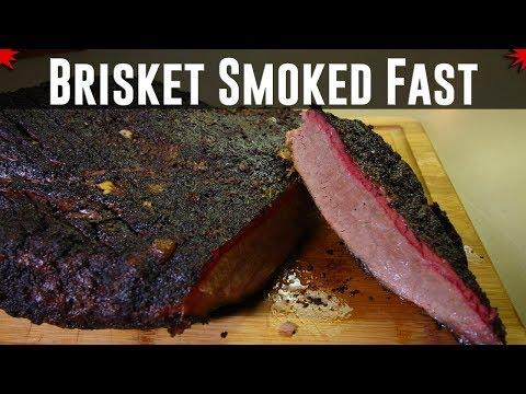 Brisket Smoked Hot & Fast On The Oklahoma Joe's Highland Offset