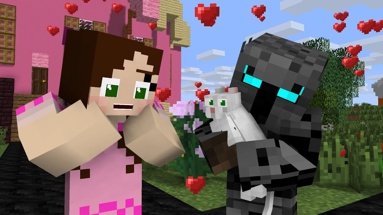 Popularmmos Jen S Cloud Quest Minecraft Animation Youtube