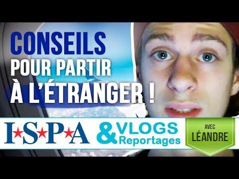 CONSEILS pour étudier à l'étranger - Vlog #5 - Léandre avec ISPA