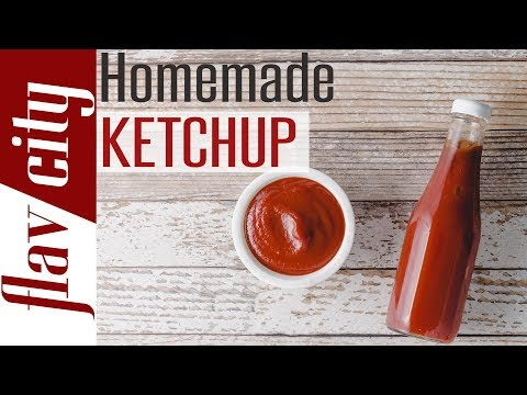 How To Make Homemade Ketchup - Sugar Free, Keto & Paleo - Bobby's Kitchen Basics