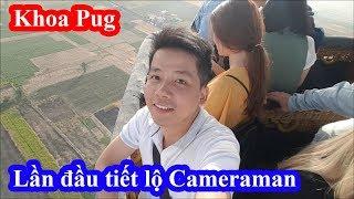 Khoa Pug đốt 5 triệu cho 30 phút trên khinh khí cầu khổng lồ ở Ai Cập cùng với cameraman