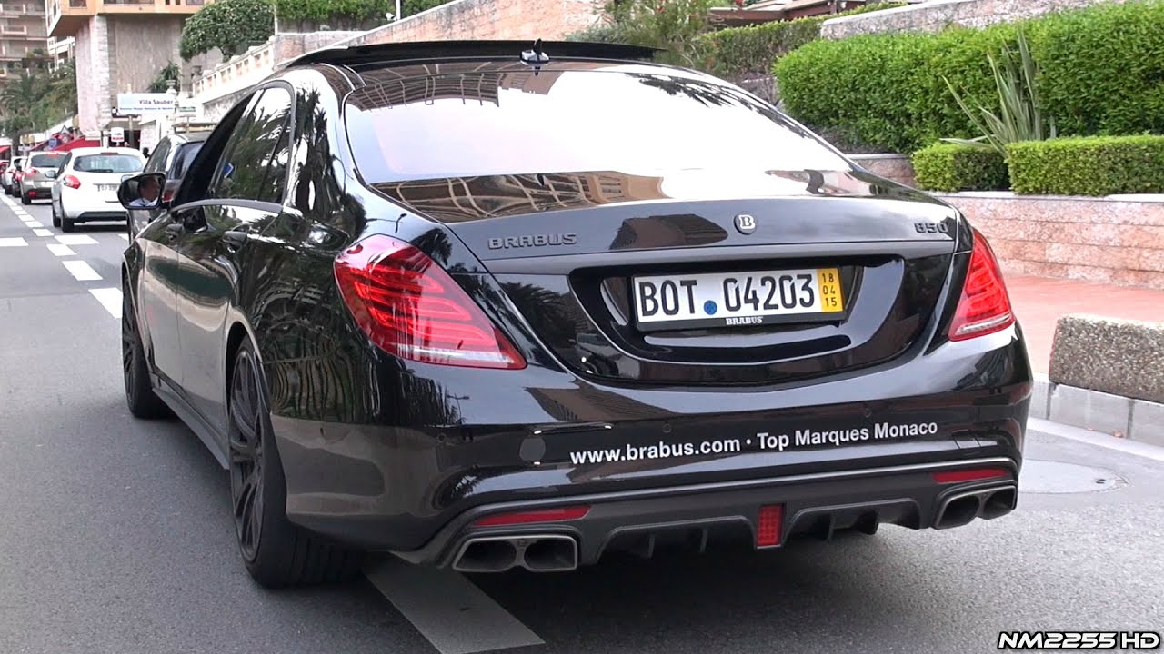Brabus 850 S63 Amg 6 0 V8 Twin Turbo Loud Exhaust Sound