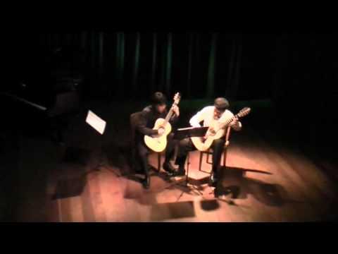 """Renzo Carranza & Diego Berrocal - Claude Debussy """"Claro de luna"""""""
