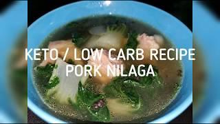 Keto Pork Nilaga / Low Carb Pork Nilaga