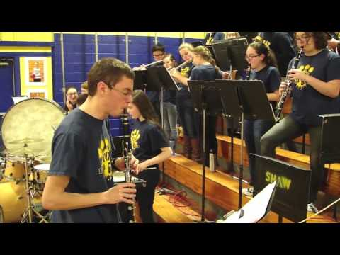 Medomak Valley High School pep band