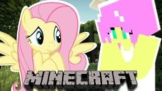 Fluttershy Plays Minecraft Part 2 II That Looks Suspicious.....