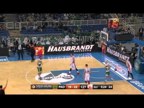 Highlights  Panathinaikos Athens Crvena Zvezda Telekom Belgrade   YouTube