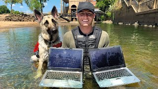 Download Found 2 Stolen Laptops While Searching Drained River! VR180 (River Treasure) Mp3 and Videos