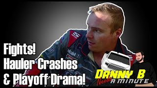 CRAZY NASCAR News Week Leads to Crazy Race Weekend - Danny B Needs a Minute