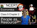 NCERT Class 9 Economics Chapter 2: People as Resource -Examrace