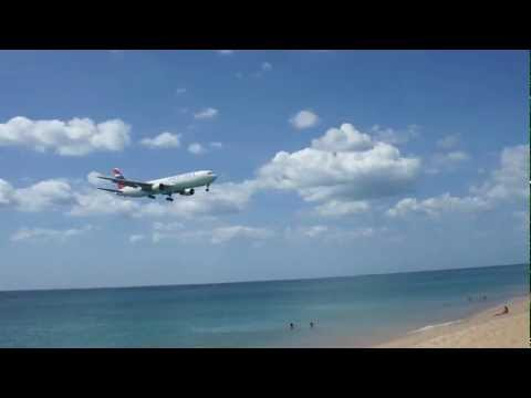 Orient Thai Airlines, Boeing 767-346 Landing Phuket International, VTSP