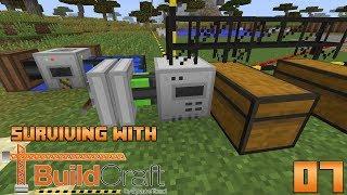 Surviving With BuildCraft 7.99 :: E07 - Quarry