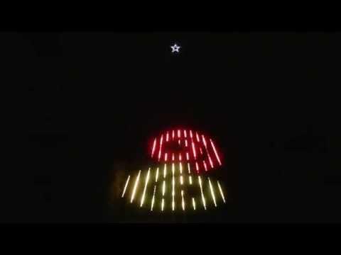 Deck the Halls by Mannheim Steamroller - 12 CCRs - SuperStar Christmas Light Show, Allen, TX