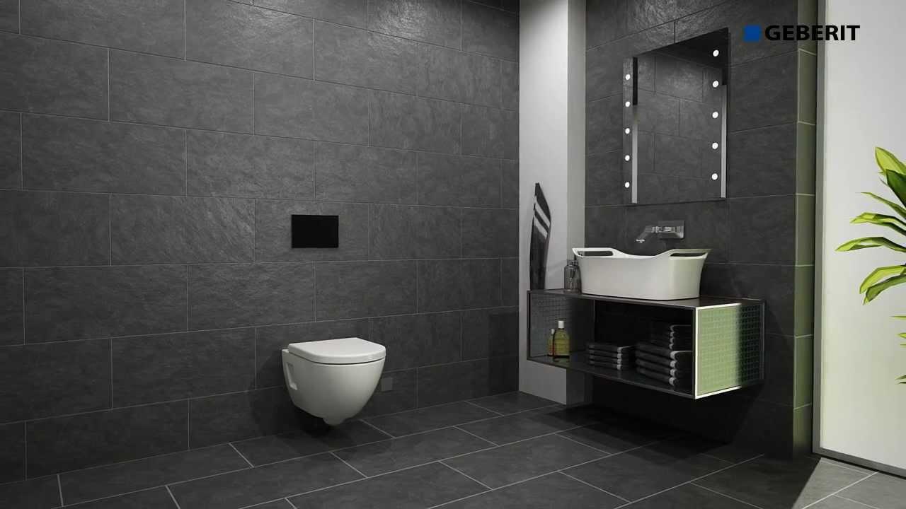 funktion geberit sigma 80 mybadshop youtube. Black Bedroom Furniture Sets. Home Design Ideas