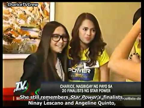 Charice meets Star Power contenders [English Subtitles]