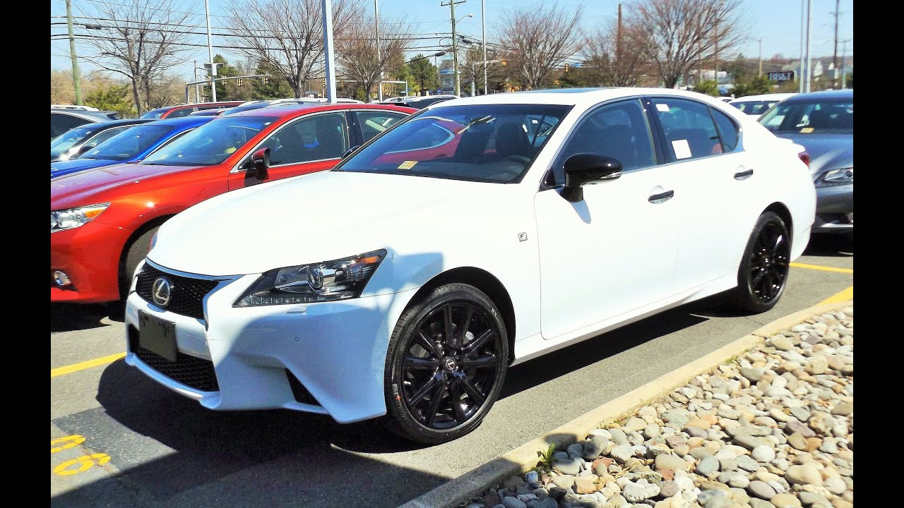 2015 Lexus GS350 F Sport AWD Start Up Full Tour and Review