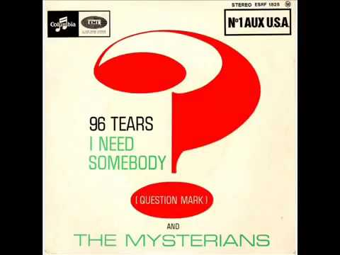 Question Mark and The Mysterians  96 Tears Stereo Version  Alternate