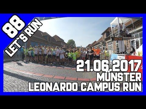Let´s Run #88 - 5km beim Leonardo Campus Run in Münster bei 30° Sonne