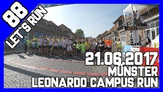 Let´s Run #88 - 5km beim Leonardo Campus Run in Münster bei 30° Sonne