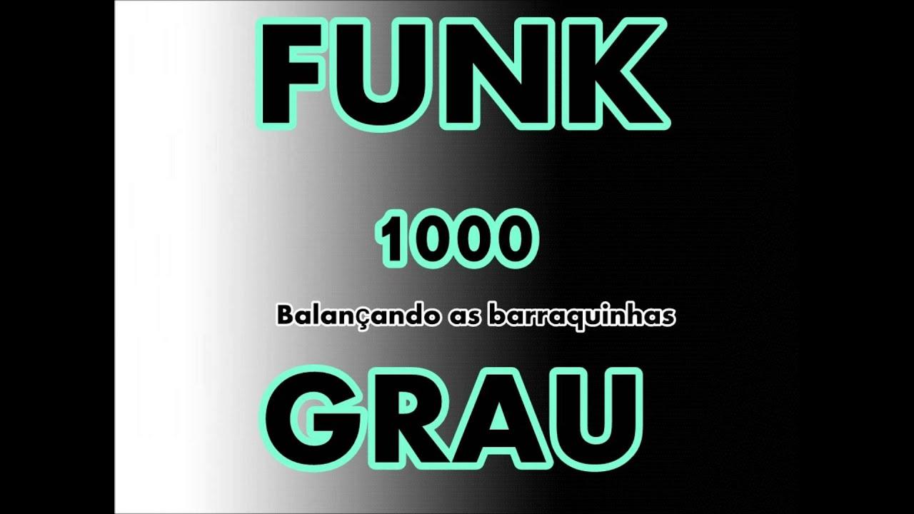 funk balancando as barraquinhas