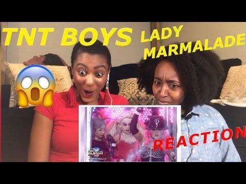 TNT BOYS LADY MARMALADE REACTION
