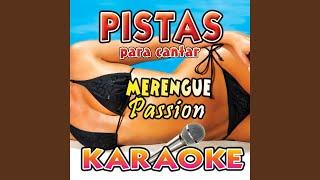 Fresa Salvaje Pista Karaoke|Merengue