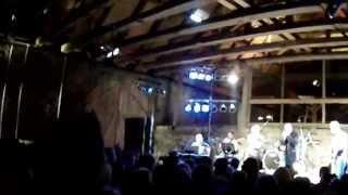 Alexander Blume und Band in Altzella