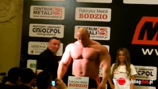 MMA Attack 3 Burneika - Ozdoba ważenie przed walką - FightingClub.pl 2017 Video