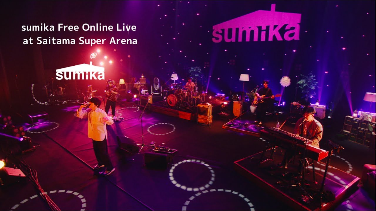 sumika / 「sumika Free Online Live at Saitama Super Arena」【Digest Live Video】for J-LODlive