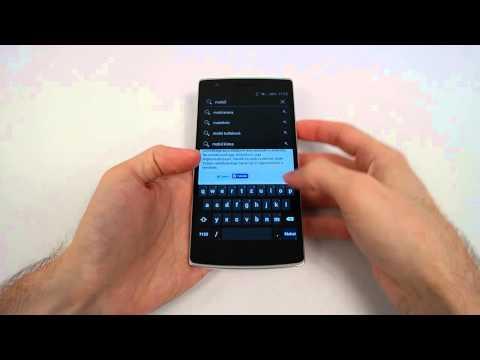 OnePlus One bemutató - mobilarena.hu