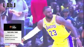 LeBron James gets exposed by the LosAngeles Lakers - We all Love The Abominable