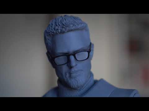 Valve Edition Half Life 2 Gordon Freeman EX Statue Gaming Heads