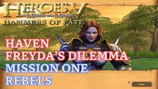 HOMM V: Hammers of Fate - Heroic - Haven Campaign: Freyda