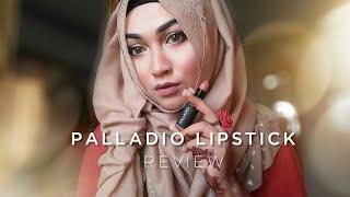 Palladio Lipstick Review   Pari ZaaD