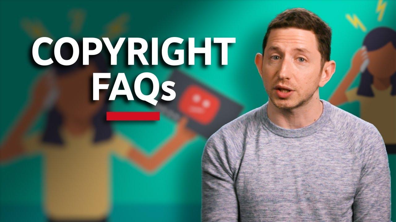 Copyright FAQs - Copyright on YouTube