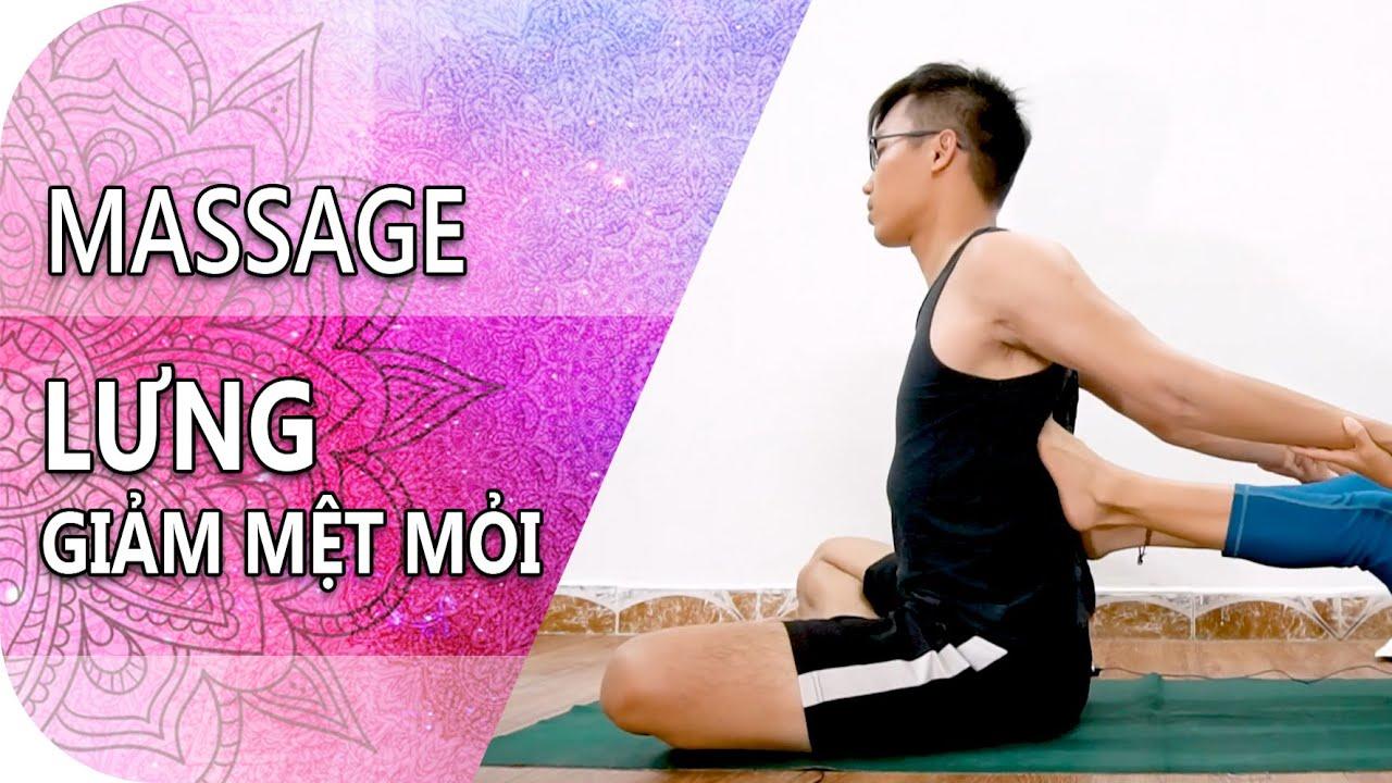 MASSAGE LƯNG THƯ GIÃN | Thai Yoga Massage | Minimind Yoga & Massage