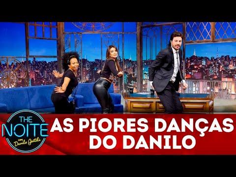 Exclusivo para web: Confira as dancinhas mais toscas do Danilo | The Noite (05/07/18)