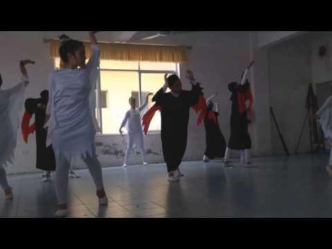 Múa đương đại , k8b SPAN đh sư phạm nghệ thuật TW