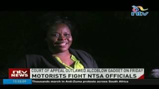 Motorists pelt NTSA officials with stones along Lang'ata highway