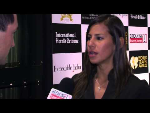Liz Chuecas Gatty, special projects coordinator, PromPeru, at World Travel Awards Grand Final 2012