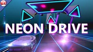 Neon Drive PC Gameplay 60fps 1080p Steam