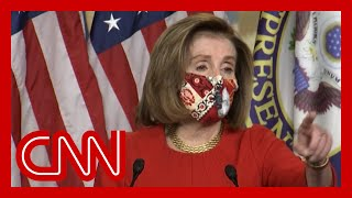 Pelosi scolds CNN reporter after stimulus question