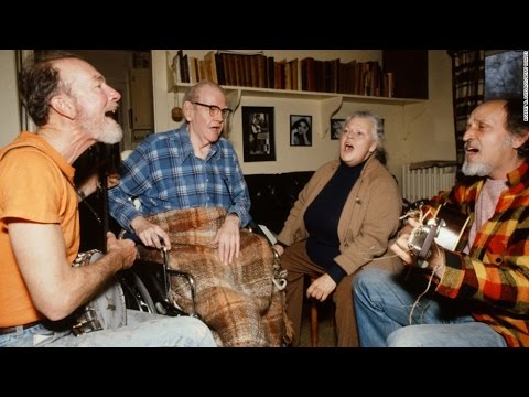 Pete Seeger, The Weavers | RARE HOME VIDEO FOOTAGE | 1980s