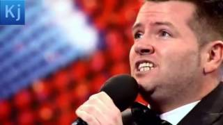 Britains got talent Edward Reid nursery rhyme singer