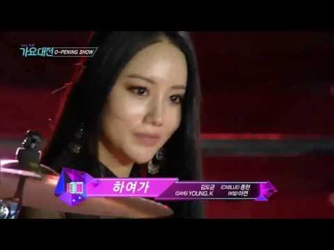 720p REHEARSAL ver 161226 Opening Show @ 2016 SBS Gayo Daejun bts jimin ten lisa mina henry