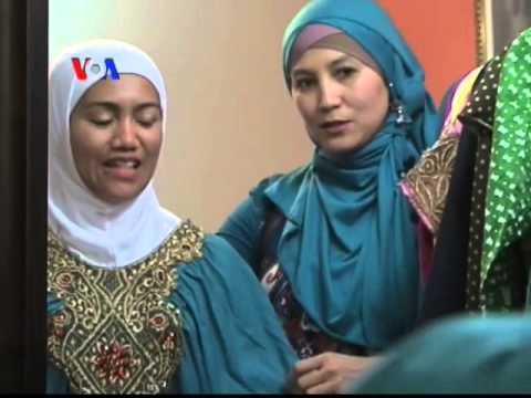 Butik Busana Muslim Indonesia di AS - Laporan VOA 7 Agustus 2013
