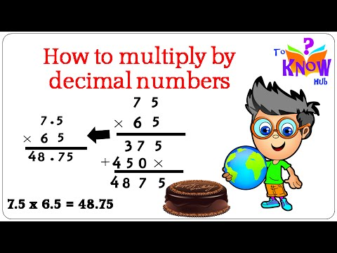 Number Names Worksheets how to multiply by 2 digit numbers : Math – Multiplying by two digit numbers & Decimals – Step by Step ...