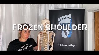 FROZEN SHOULDER - What it is, Causes and TWO SIMPLE techniques to help.